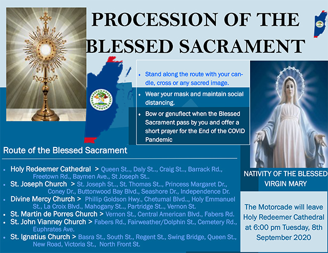 Procession of Blessed Sacrament Flyer